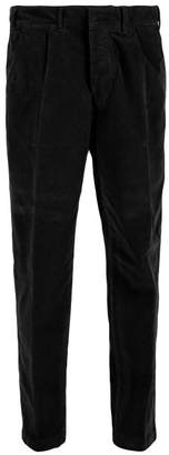 The Gigi - Cotton Corduroy Tapered Trousers - Mens - Black