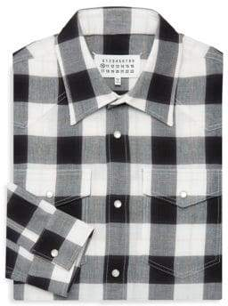 Maison Margiela Lumberjack Checkered Dress Shirt
