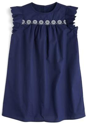 J.Crew crewcuts by Floral Embroidered Shift Dress