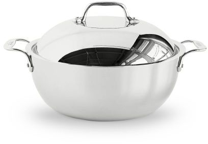 All-Clad Stainless Steel Dutch Oven, 51⁄2 qt.