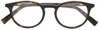 Ermenegildo Zegna round frame glasses $198.72 thestylecure.com