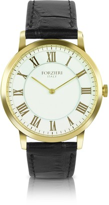 Forzieri Donatello - Slim Leather Watch