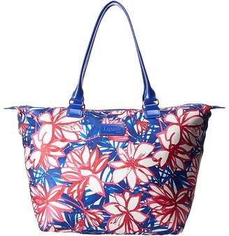 Lipault Paris Blooming Summer Medium Tote Bag Tote Handbags