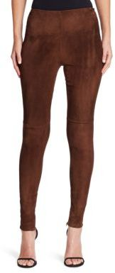 Ralph Lauren Collection Suede Eleanora Pants $1,990 thestylecure.com