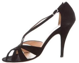 Jean-Michel Cazabat Suede Cutout Sandals