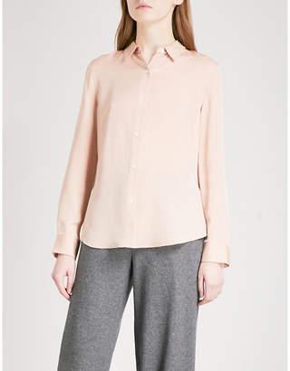 Theory Tenia silk shirt