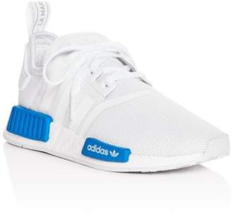 adidas Girls' NMD R1 Knit Lace-Up Sneakers - Big Kid