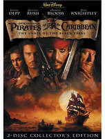 Disney Pirates of the Caribbean: The Curse of the Black Pearl DVD
