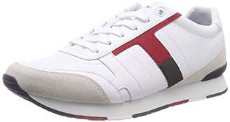 Tommy Hilfiger Men's Corporate Leather Mix Low-Top Sneakers