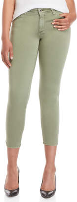 AG Adriano Goldschmied Prima Mid-Rise Cigarette Cropped Jeans