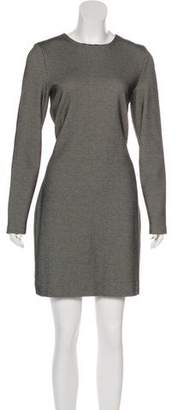 Nicole Miller Long Sleeve Knit Dress