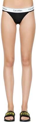 Calvin Klein Underwear Jersey & Lace Thong