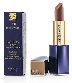 Estee Lauder Pure Color Envy Metallic Matte Sculpting Lipstick - # 130 Brushed Bronze 3.5g/0.12oz