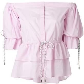 913fe14521 Christian Pellizzari strapless shirt