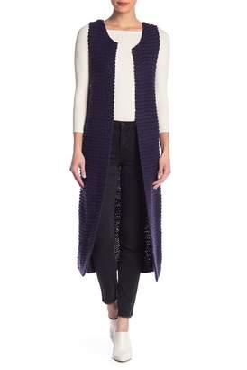 Banjara Long Knit Vest