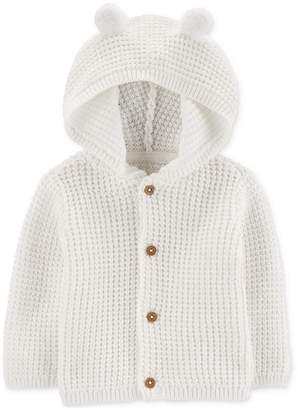 Carter's Carter Baby Boys or Girls Hooded Cardigan