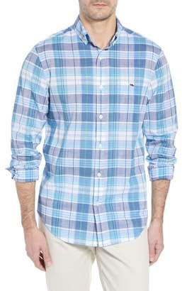 Vineyard Vines Smith Point Tucker Classic Fit Plaid Sport Shirt