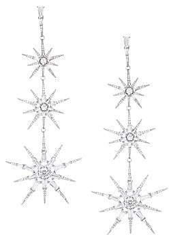 Adriana Orsini Cubic Zirconia Star Drop Earrings