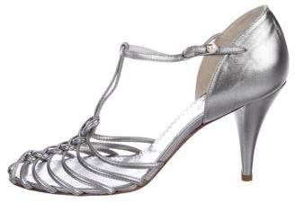 Chanel Leather Multistrap Sandals