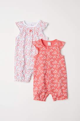 H&M 2-pack Pajamas - Red