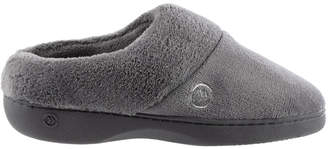 Isotoner Women Mixed Microterry Hoodback Slippers, Online Only
