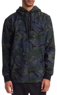 G Star Camouflage Hoodie