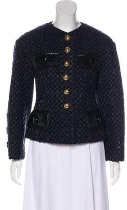 Louis Vuitton Wool Bouclé Jacket