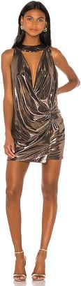 Caroline Constas Plisse Dress