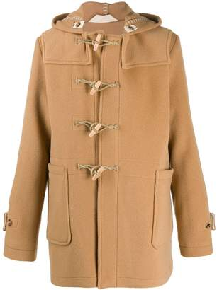 Alexander McQueen hooded duffle coat