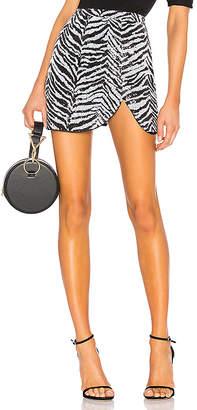 LPA Draped Mini Skirt