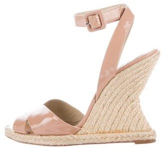 Christian Louboutin  Christian Louboutin Espadrille Wedge Sandals