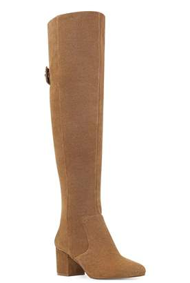 Nine West Queddy Suede Over-The-Knee Boots