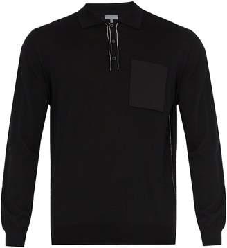 Lanvin Patch-pocket wool sweater