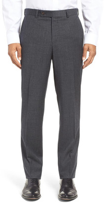Ted Baker London Jefferson Trim Fit Houndstooth Wool Trousers $225 thestylecure.com