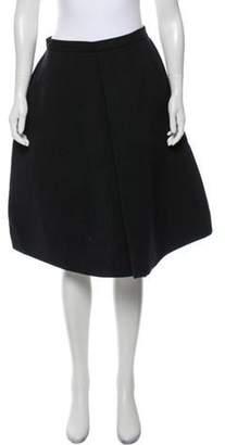 Ter Et Bantine Wool-Blend Knee-Length Skirt wool Wool-Blend Knee-Length Skirt