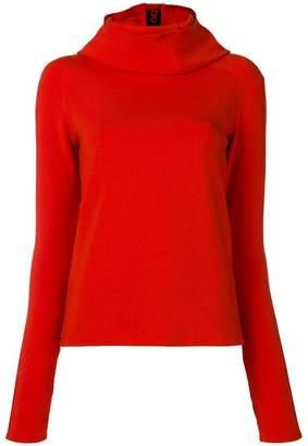 Paco Rabanne cowl neck sweatshirt