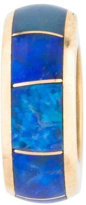 Charm 14K Opal Rondelle