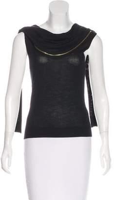 Nina Ricci Wool Sleeveless Sweater