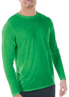 Gildan Big Mens AquaFX Performance Long Sleeve T-Shirt, 2XL