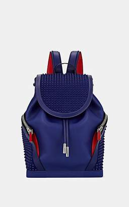 Christian Louboutin Men's Explorafunk Leather Backpack - Blue