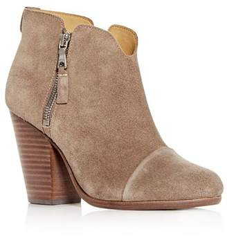 Rag & Bone Women's Margot Suede High Block -Heel Booties