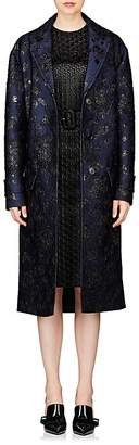 Prada Women's Floral Cloqué Coat