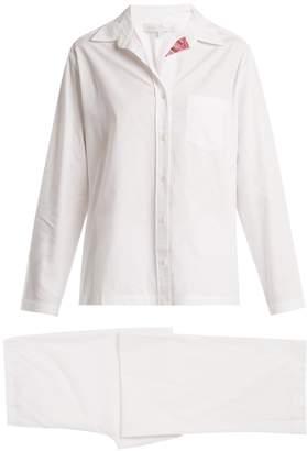 POUR LES FEMMES Congo patch-pocket cotton pyjamas