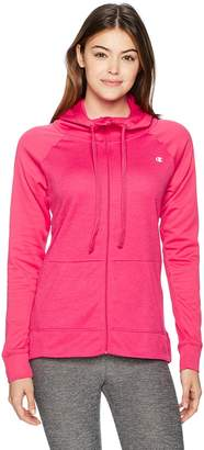 Champion Women's Performance Fleece Full-Zip Jacket Outerwear