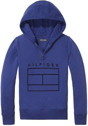 Tommy Hilfiger Boys Zip Through Hoody