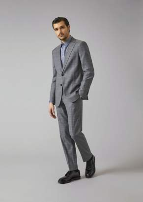 Giorgio Armani Soho Suit In Virgil Wool