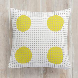 fun polka dot Square Pillow