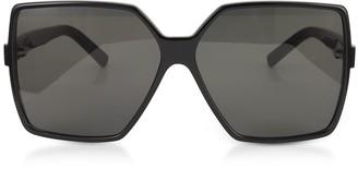 4de800ed8bb Saint Laurent SL 232 Betty Oversize Acetate Women s Sunglasses