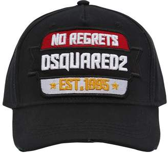 DSQUARED2 No Regrets Cotton Baseball Hat