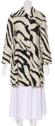 Tibi Wool Short Coat